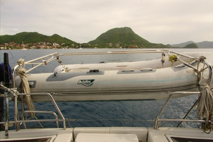 Island Davits in the islands